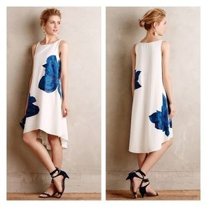 Ranna Gill Anthropologie High Low Dress